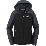 Ladies' Hooded Core Soft Shell Jacket