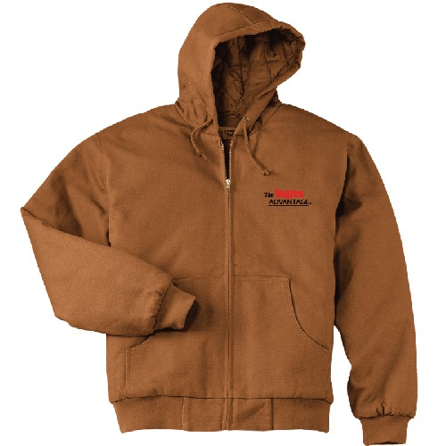 Driver's Duck Cloth Hooded Jacket